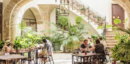 Restaurant i Palma by, Mallorca.