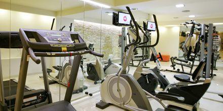 Fitnessrum på Hotel Palmera Beach & Spa på Kreta, Grækenland.