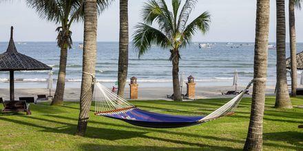 Hængekøje på Pandanus Resort, Phan Thiet i Vietnam.