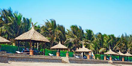 Stranden ved Pandanus Resort, Phan Thiet i Vietnam.