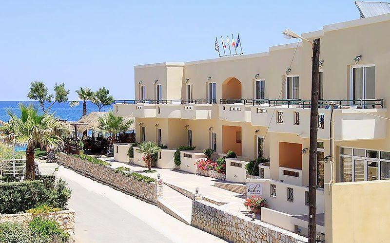 Hotel Panos Beach i Platanias på Kreta