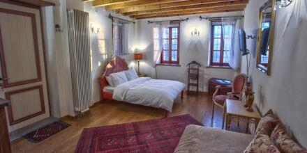 Superior-værelse på Papigo Towers, Zagoria.