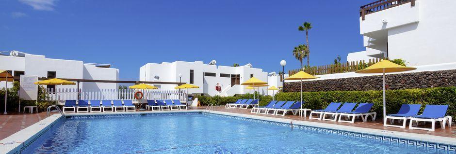 Poolområde på Hotel Paraíso del Sol  på Tenerife, De Kanariske Øer, Spanien.