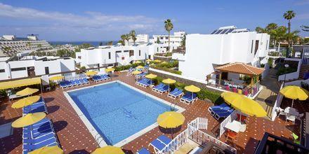 Poolområde på nabohotellet Paraíso del Sol på Tenerife.