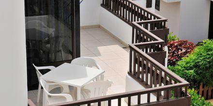 Balkon på Hotel Paraíso del Sol  på Tenerife, De Kanariske Øer, Spanien.
