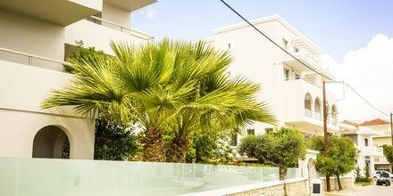Hotel Parasol i Karpathos By, Grækenland.