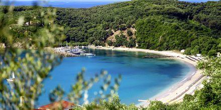 Valtos-stranden på Parga, Grækenland