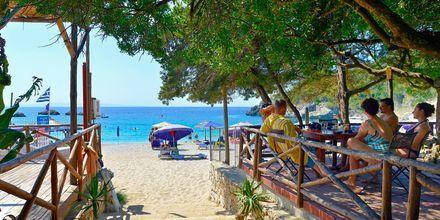 Sarakiniko-stranden udenfor Parga, Grækenland