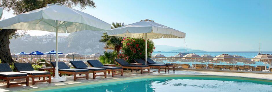 Pool på Hotel Parga Beach, Grækenland.
