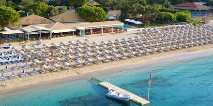 Stranden ved Hotel Parga Beach, Grækenland.