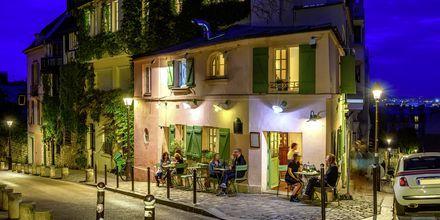 Restaurant i Montmartre.
