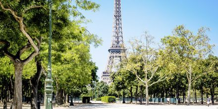 Eiffeltårnet i Paris.
