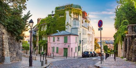 Montmartre i Paris.