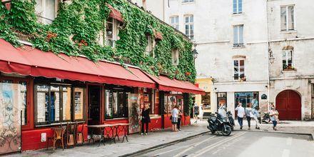 Paris i Frankrig.