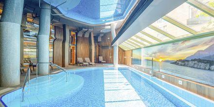 Indendørs pool på Hotel Park i Makarska, Kroatien.