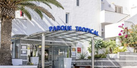Hotel Parque Tropical i Puerto del Carmen, Lanzarote