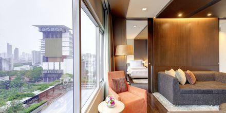 Executive-værelse på Hotel Pathumwan Princess i Bangkok, Thailand.