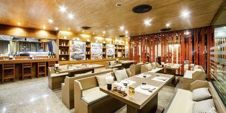 Tatsumi Japanese Restaurant på Hotel Pathumwan Princess i Bangkok, Thailand.