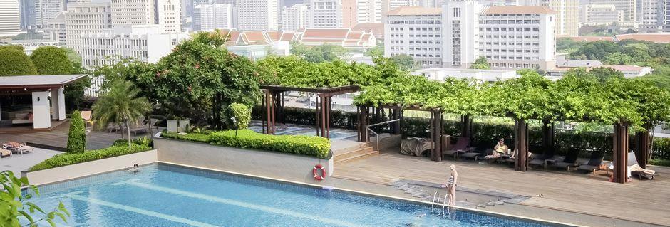 Hotel Pathumwan Princess i Bangkok, Thailand.