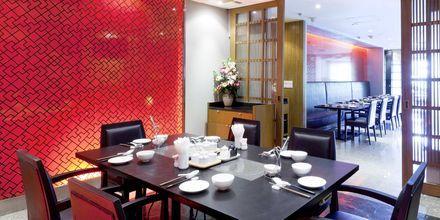 Pings Thai Teochew Seafood på Hotel Pathumwan Princess i Bangkok, Thailand.