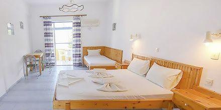 1-værelses lejlighed på Hotel Pavlis i Votsalakia på Samos i Grækenland.