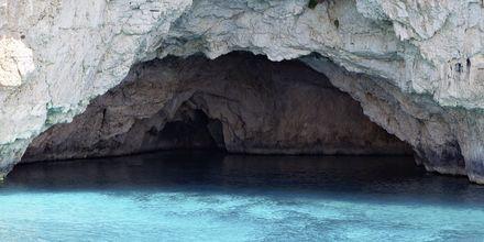 Grotterne på Paxos