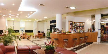 Receptionen på Hotel Pegasus på Kreta, Grækenland.