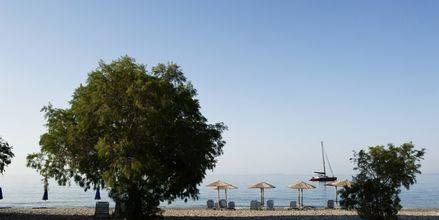 Stranden ved Votsalakia på Samos.