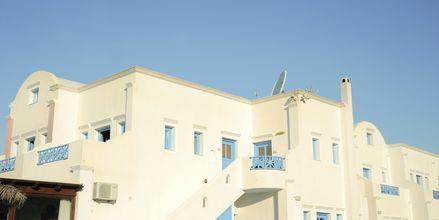 Hotel Perissa Bay på Santorini.