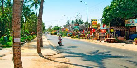 Phan Thiet i Vietnam.