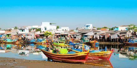 Mui Ne, Phan Thiet i Vietnam.