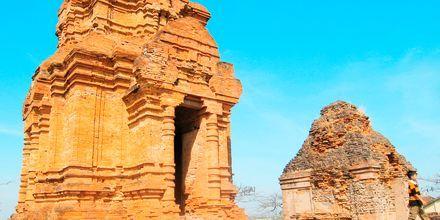 Cham-tårnene udenfor Phan Thiet i Vietnam.