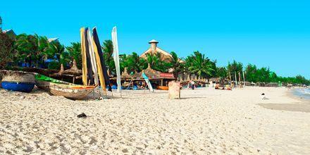 Strand i Mui Ne, Phan Thiet i Vietnam.
