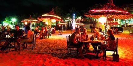 Strandrestaurant på Phu Quoc i Vietnam.