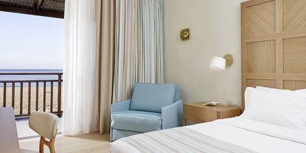 Dobbeltværelse på Hotel Pilot Beach i Georgioupolis på Kreta, Grækenland.