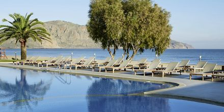 Pool på Hotel Pilot Beach i Georgioupolis på Kreta, Grækenland.