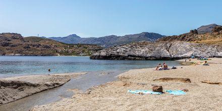 Stranden i Plakias er perfekt for dig, der vil lidt væk fra store folkemængder.