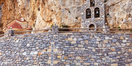 I Plakias området er der flere seværdigheder, blandt andet dette lille kapel.