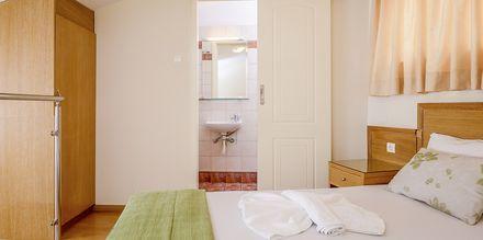 1-værelses lejlighed i etage på Hotel Platanias Mare på Kreta, Grækenland.