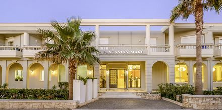 Hotel Platanias Mare på Kreta, Grækenland.
