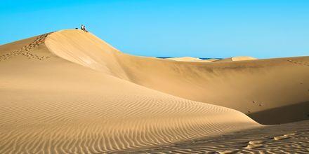 Sanddynerne i Playa del Inglés og Maspalomas på Gran Canaria, De Kanariske Øer, Spanien.