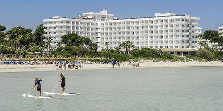 Stranden ved Hotel Playa Esperanza på Mallorca, Spanien.