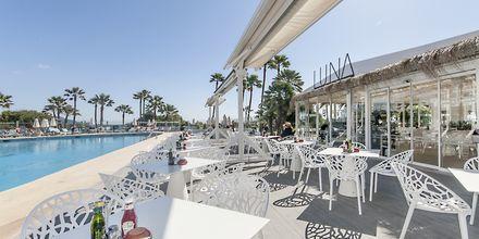 Restaurant på Hotel Playa Esperanza på Mallorca, Spanien.