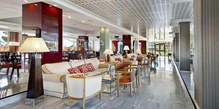 Lobbyen på Hotel Playa Esperanza på Mallorca, Spanien.