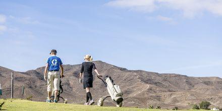 Golf på Playitas.