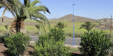 Udsigt fra hotel Playitas Annexe, Fuerteventura.