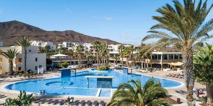 Poolområde på Playitas Aparthotel, Fuerteventura.