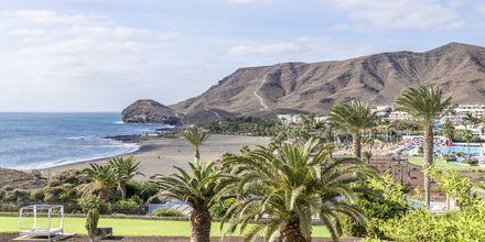 Udsigt fra Playitas Hotel på Fuerteventura,