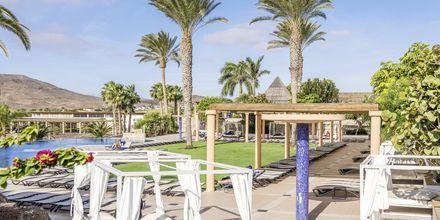 Poolområde på Playitas Hotel på Fuerteventura,