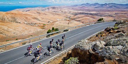 Gode cykelmuligheder ved Playitas, Fuerteventura.